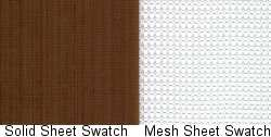Excalibur Teflex and Excalibur Mesh Sheet Swatch