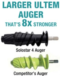 solostar4 auger compared